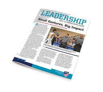 2021-22 NFHS Leadership Officiating Preseason Guide