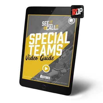 Special Teams: See It. Call It.