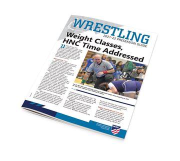 2021-22 NFHS Wrestling Preseason Guide