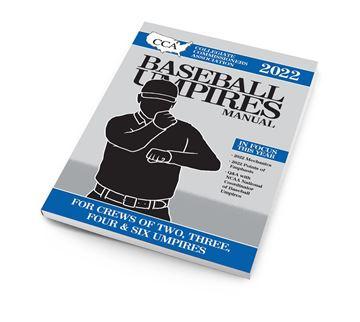 2022 CCA Baseball Umpires Manual