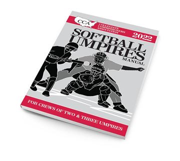 2022 CCA Softball Umpires Manual